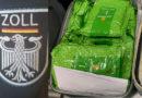 Zoll am Frankfurter Flughafen deckt Schmuggel von 184 kg unversteuertem Wasserpfeifentabak im Reiseverkehr auf