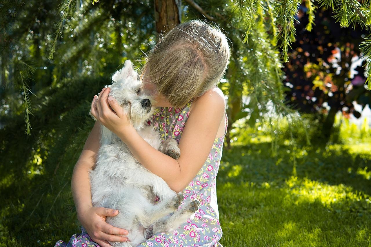 Gute Teams – Kinder und Haustiere passen zusammen