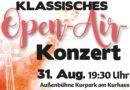 Bad Zwesten – Klassik- Open-Air Konzert im Kurpark