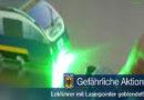 Lokführer mit Laserpointer geblendet