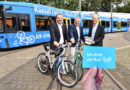 "Tram wirbt für Fahrrad-Tag ""Kassel radelt"" am 22. September 2019"