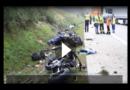 Vier tote Motorradfahrer bei schwerem Unfall auf der A9