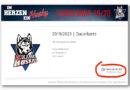 Finale Phase im Dauerkarten-Verkauf der Kassel Huskies