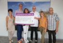Spendenscheck durch Club der ehemaligen Prinzen übergeben