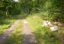 Waldeck – illegal Müll und Altöl im Wald entsorgt, Polizei ermittelt wegen Umweltstraftat