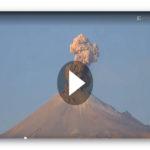 Unglaubliche Aufnahmen: Vulkan in Mexiko bricht aus