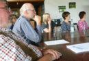 Engagierte Diskussion beim 2. Workshop Dorferneuerung in Welferode