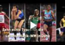 Ex-Junkie und werfender Präsident: Typen der Leichtathletik-WM
