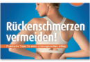 Rückenschmerzen vermeiden: Neues AGR-Magazin ab Oktober 2019 kostenlos erhältlich