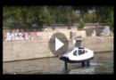 """Paris testet """"fliegende"""" Wassertaxis"""