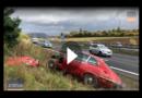 Oh Nein- Jaguar E-Type zerschrotet