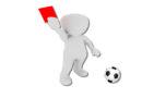 Fritzlar-Obermöllrich: Schiedsrichter bei Fußballspiel verletzt