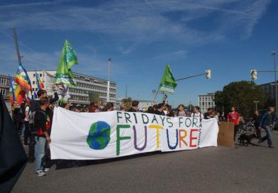 Gute 15.000 Teilnehmer bei der Fridays for Future Demo in Kassel