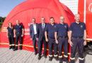 Schnelleinsatzzelt für die Feuerwehren der Stadt Gudensberg