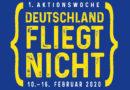"""Frankfurter Flughafen wird am 11.11.2019 zur Bühne der """"Deutschland-fliegt-nicht"""" Kampagne"""