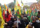 Kurden demonstrieren für die Freiheit ihrer Heimat in Köln