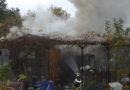 Kassel: Brand einer Gartenlaube