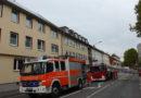 Brand in Dachgeschosswohnung eines Mehrfamilienhauses in Kassel