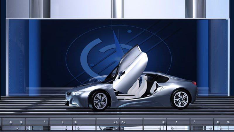 Zwischen verrückt und visionär: automobile Kunstwerke und Studien auf der Essen Motor Show