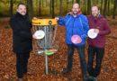 """""""Weck den Herkules in dir"""": Oberbürgermeister besucht Sieger vom Disc Golf-Projekt"""