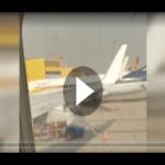 Geschockter Passagier: Flugzeug-Fenster nur mit Klebeband repariert