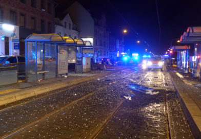 Kassel: Verkehrsunfall mit eingeschlossener Person