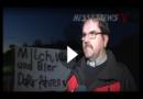 Flashmop – Treckerfahrer zeigen sich solidarisch