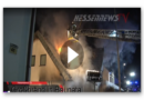 Großbrand in Baunatal – Feuer greift auf Dachstuhl über