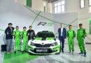 Premiere im Reich der Mitte: Erstmals setzt ein chinesisches Team den SKODA FABIA R5 bei Rallyes ein