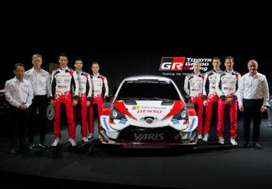 Neues Fahrertrio debütiert im Toyota Yaris WRC