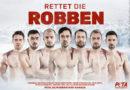Sieben deutsche Handball-Nationalspieler nackt und mit blutiger Wunde am Körper: Neue PETA-Motive mit Profi-Sportlern gegen grausame Robbenjagd in Kanada