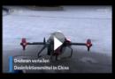 Coronavirus: China setzt Drohnen zur Desinfizierung ein
