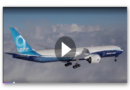 Spektakuläre Premiere: Boeing 777X faltbare Flügel kommen erstmals zum Einsatz