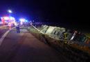 Umgestürzter LKW auf der A 44
