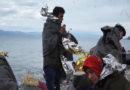 Flüchtlingsboot auf Lesbos angekommen