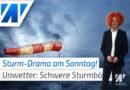 Sturm-Drama am Sonntag! Müssen Umzüge abgesagt werden?