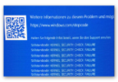 Computerhilfe: Blue Screen in WIN10 ?