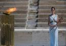 Das Olympische Feuer brennt