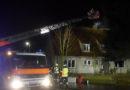 Leerstehendes Gebäude brennt mitten in der Nacht !?!