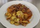 Jeder kann kochen, man braucht nur Mut: Schnitzel mit Pilzsoße