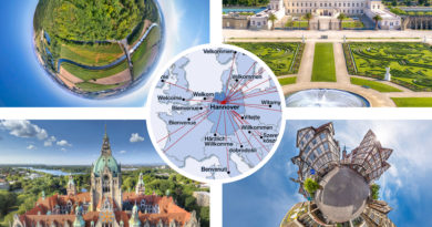 Travelling without moving – Virtueller Hannover Urlaub