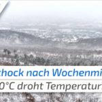 Kälteschock nach Wochenmitte? Nach Frühlingswetter droht Deutschland ein heftiger Temperatursturz! de