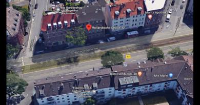 Gebäude Holländische Straße 42 wird ab 14. April abgerissen