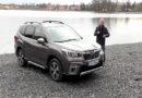 Klaus Niedzwiedz testet den neuen Subaru Forester