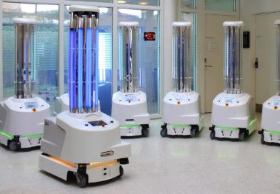 Roboter helfen weltweit im Kampf gegen das Coronavirus