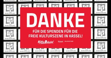 Hilfe für die freie Kulturszene Kassel: Bewerbung auf Unterstützung aus der Spendenkampagne jetzt möglich
