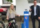 Neue Fahrradreparaturstation in Bad Zwesten