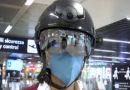 """Einsatz am Flughafen in Rom: """"Smarter"""" Helm misst Temperatur der Reisenden"""