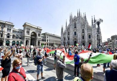 Italien gedenkt am Nationalfeiertag der Toten der Coronaviruspandemie