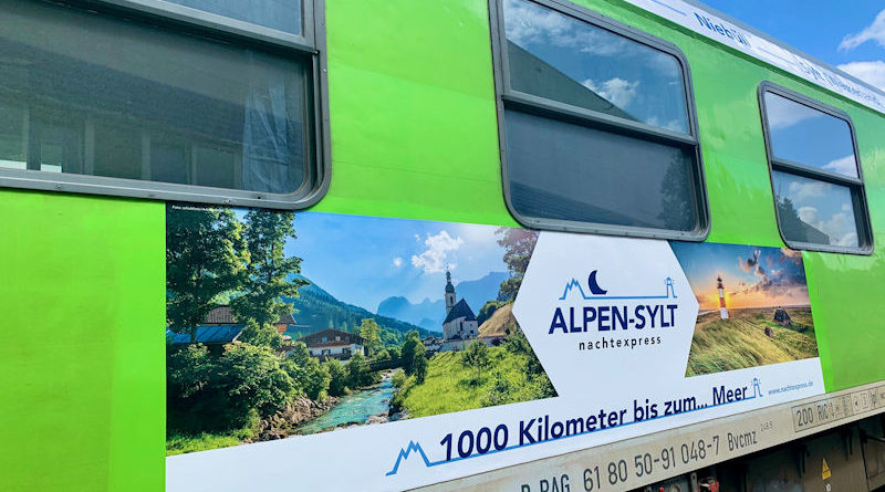 In einer Nacht von Sylt nach Salzburg